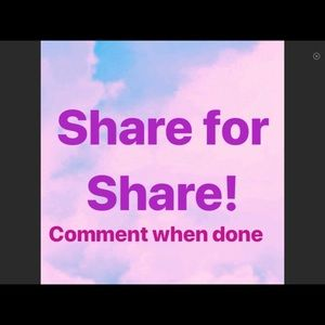 New Sharing Game.  Like and follow, then share